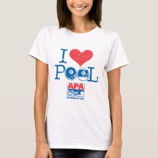 T-shirt I piscine de coeur