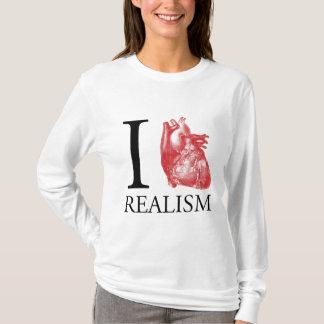 T-shirt I réalisme de coeur