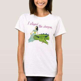 T-shirt I SLAYED la pièce en t de DRAGON