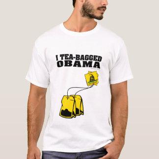 T-shirt I Teabagged Obama