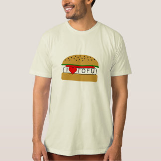 T-shirt I tofu de coeur