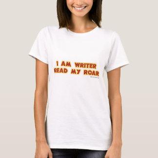 T-shirt I un auteur a lu mon hurlement !