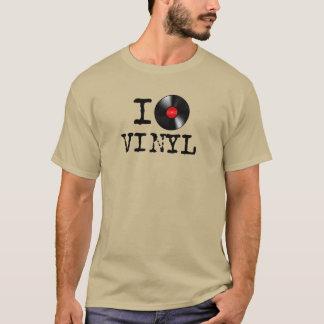 T-shirt I vinyle de coeur