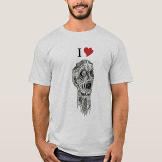 T-shirt I zombis de coeur