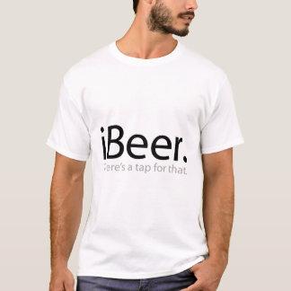 T-shirt iBeer - il y a un robinet pour cela