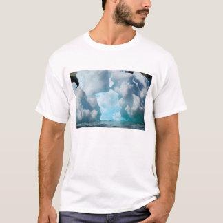 T-shirt Icebergs de glace du bout du sud des sud