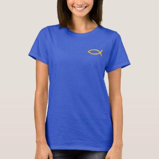 T-shirt Ichthus - symbole chrétien de poissons