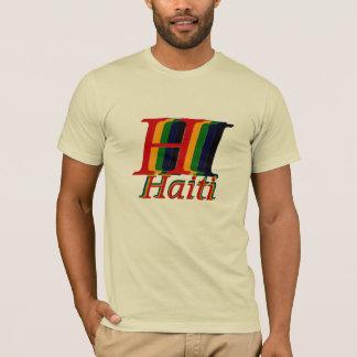 T-shirt Ici aide le Haïti