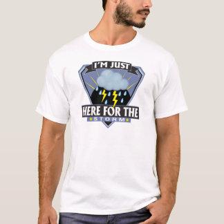 T-shirt Ici pour la tempête