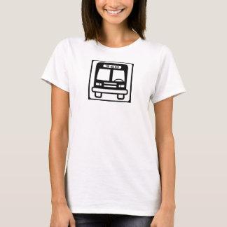 T-shirt Icône d'autobus de réservoir de filles