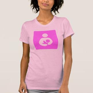 T-shirt Icône de allaiter/soins