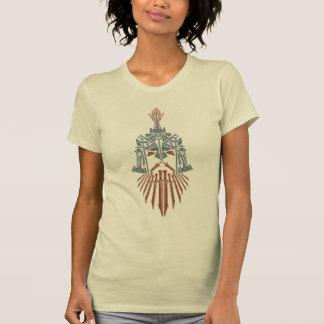 T-shirt Icône de casque d'armes de Dwarven