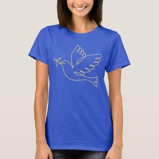 T-shirt Icône de colombe de paix