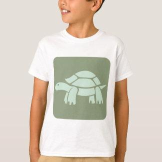 T-shirt Icône de tortue de Galapagos