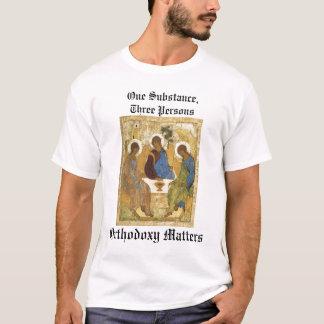 T-shirt Icône de trinité : Sujets d'orthodoxie
