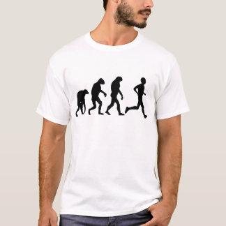 T-shirt icône d'évolution de coureur