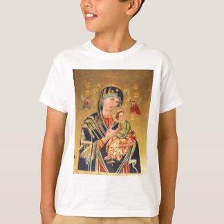 T-shirt Icône orthodoxe russe - Vierge Marie et bébé Jésus