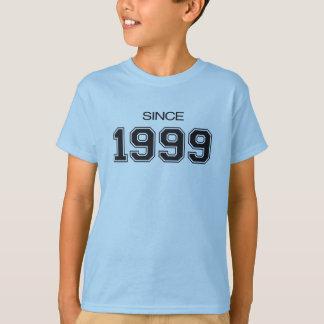 T-shirt idée de cadeau d'anniversaire 1999