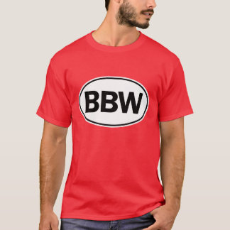 T-shirt Identification ovale de BBW