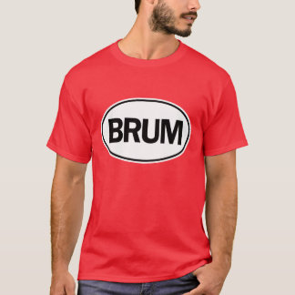 T-shirt Identification ovale de BRUM
