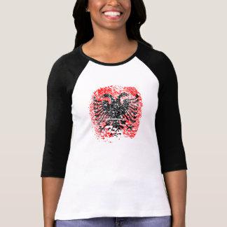 T-shirt Identité albanaise - femme de chemise - noir -