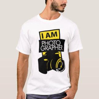 T-shirt identité pour le photographe