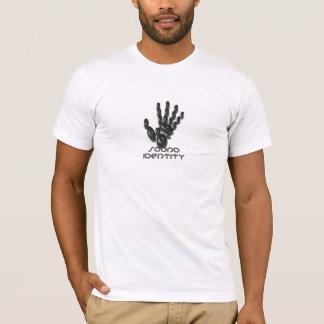 T-shirt Identité saine (blanc adapté)