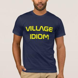 T-SHIRT IDIOME DE VILLAGE
