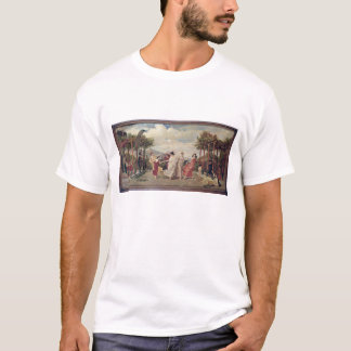 T-shirt Idylle classique (huile sur la toile)