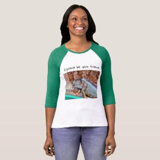 T-shirt Iguane bel