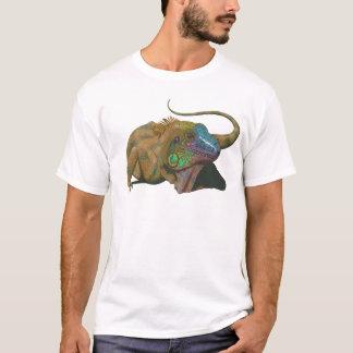 T-shirt iguane vert