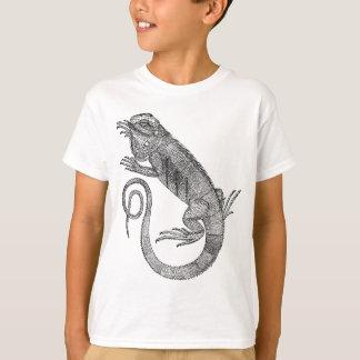 T-shirt Iguane vintage