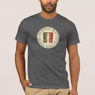 T-shirt Iguanes d'îles de Galapagos