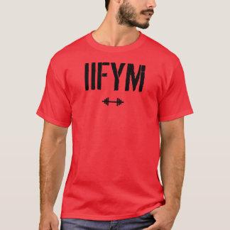 T-shirt IIFYM - s'il adapte vos macros