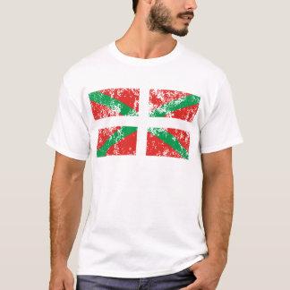 T-shirt Ikurriña usée