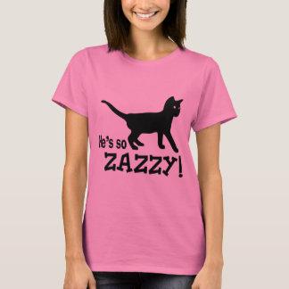 T-shirt Il est ainsi Zazzy - amoureux des chats