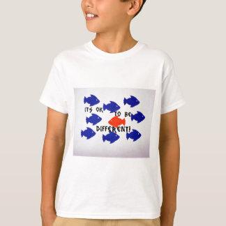 T-shirt Il est correct d'être différent !