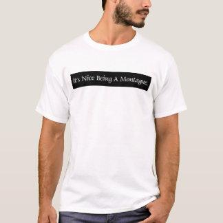 T-shirt Il est être intéressant A Montague.