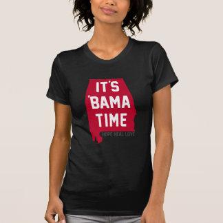 T-shirt Il est temps de Bama - appui de l'Alabama