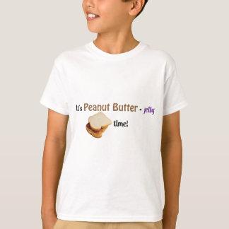 T-shirt Il est temps de Beurre-Gelée d'arachide !