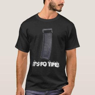 T-shirt Il est temps des FO (G-évalué)