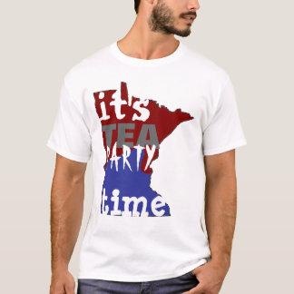 T-shirt Il est temps Minnesota de thé