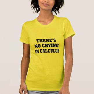 T-shirt IL Ne Y A AUCUN PLEURER DANS LE CALCUL