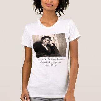 T-shirt Il n'y a aucune pensée dangereuse ; thinki…