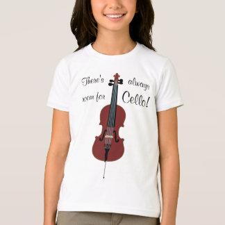T-shirt Il y a toujours pièce pour le violoncelle !
