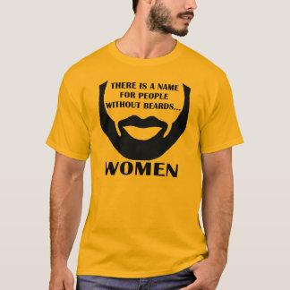 T-shirt Il y a un nom pour des personnes sans barbes…