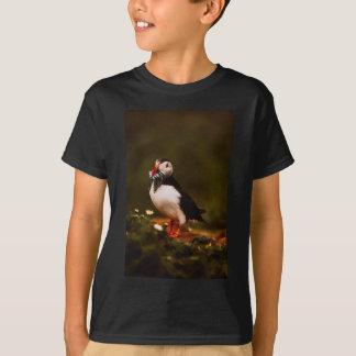 T-shirt Île animale d'Océan atlantique de faune d'oiseau