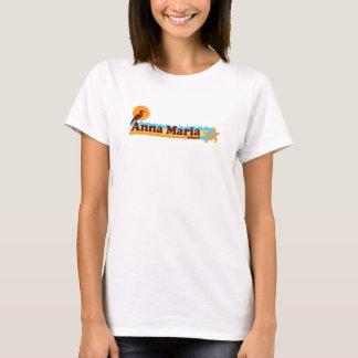 T-shirt Île d'Anna Maria - conception de plage