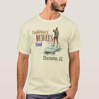 T-shirt Île de Paddleboard Dewees, Charleston, Sc