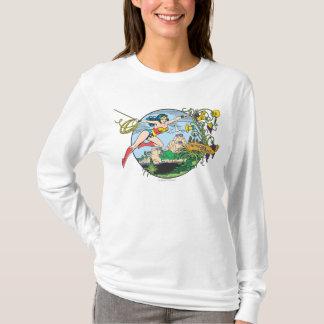 T-shirt Île de paradis de femme de merveille